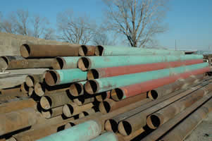 Used Pipe, flume Pipe, tanks